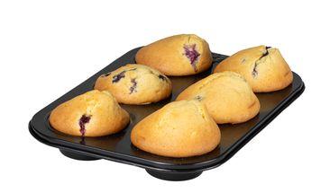 Sareva Muffinvorm Zwart 6 Muffins