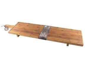Serveerplank XXL Bamboe 100 x 26 cm