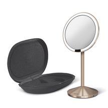 Simplehuman Sensor Mini make-up spiegel met LED - rosegoud