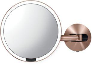 Simplehuman Sensor make up spiegel - rosegoud - netstroom