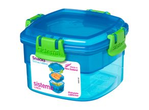 Sistema Lunchbox Blauw