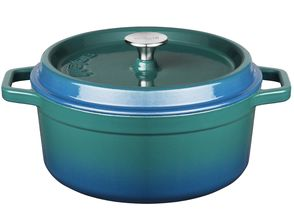 Sola Braadpan Met Deksel Blauw Ø 28 cm