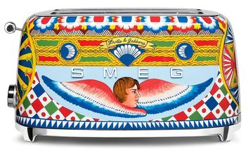 SMEG Broodrooster Dolce & Gabbana 2x4