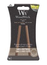 WoodWick Autoparfum Navulling Sand & Driftwood