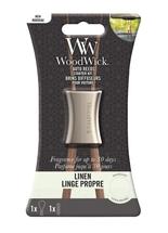 WoodWick Autoparfum Starter Kit Linen