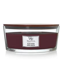 WoodWick Ellipse Candle Black Cherry