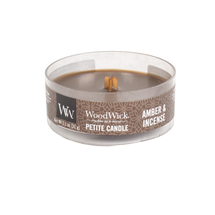 WoodWick Kaars Petite Candle Amber & Incense