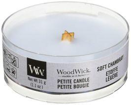 WoodWick Petite Candle Soft Chambray
