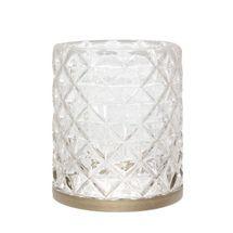 Yankee Candle Jar Sleeve Langham Metallic