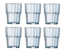 Arcoroc Tumbler Norvege Gehard Glas 20 cl - 6 Stuks