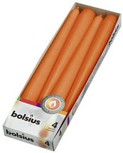 bolsius-dinerkaarsen-4stuks-oranje