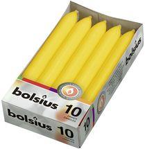 bolsius-dinerkaarsen-geel-10stuks