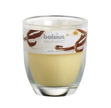 Bolsius geurkaars in glas Aromatic Vanilla 80/70 mm
