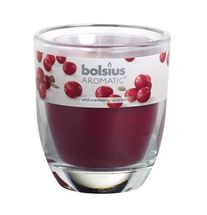 Bolsius geurkaars in glas Aromatic Wild Cranberry 80/70 mm