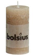 Bolsius stompkaars Rustiek beige 100/50 mm