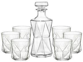 Bormioli Whiskyset Cassiopea 7-Delig