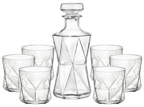 Bormioli Whisky set Cassiopea 7-Delig
