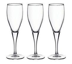 Bormioli Champagneglazen Fiore 17.5 cl - 3 Stuks