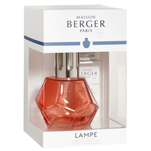 Lampe Berger giftset Geometry rood
