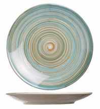 Cosy & Trendy plat bord Turbolino blauw