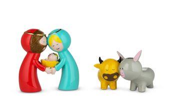 Alessi Kerstfiguren Happy Eternity Baby