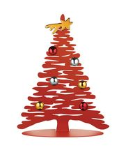 Alessi Kerstboom Bark Rood