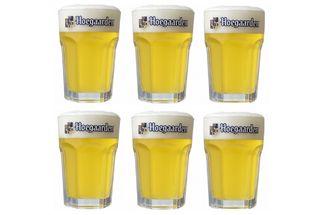Hoegaarden Bierglazen Witbier 25 cl - 6 Stuks