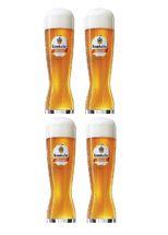 Krombacher Bierglazen Weizen 30 cl - 4 Stuks