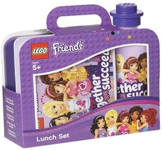 LEGO® Lunchset Friends Paars