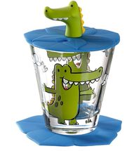 Leonardo Drinkbekerset Bambini Krokodil 3-Delig 215 ml