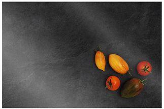 Leonardo Snijplank Glas Cucina Zwart 20 x 30 cm