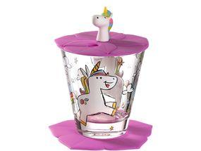 Leonardo Drinkbekerset Bambini Unicorn 3-Delig 215 ml