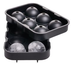 Sareva IJsbollenmaker Zwart 6 Bollen