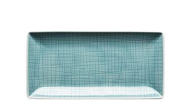 Rosenthal Mesh serveerschaal 20x10cm - aqua
