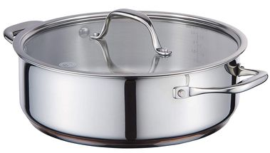 MasterChef Copperline Sautepan 24 cm