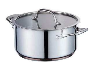 MasterChef Copperline Casserole Pan 24cm