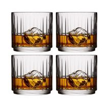 Sareva Whiskyglazen Moville 32 cl - 4 Stuks