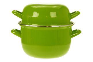 mosselpan-groen-18cm