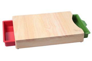 snijplank-rubberwood-opvangbak