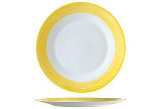 plat-bord-brush-geel-25cm