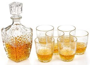 Bormioli Whisky Set Dedalo 7-Delig