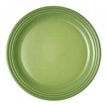 Le_creuset_dinerbord_groen