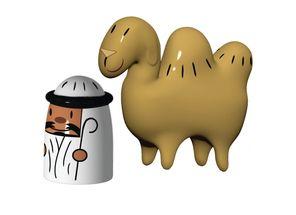 Alessi Figuren Amir & Camelus