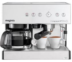 Magimix Espresso Filter Combinatie Mat Chroom