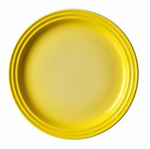 Le_creuset_ontbijtbord_geel