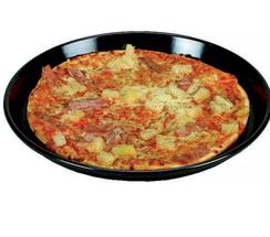 Pizzaplaat met Snijvaste Bodem Geemailleerd