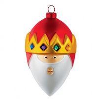 Kerstbal 3 Wijzen - Casper