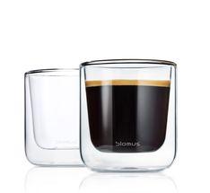 Blomus Dubbelwandige Glazen Koffie Nero 20 cl - 2 Stuks