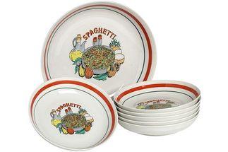 kinderservies spaghetti 7-delig