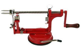 Cosy & Trendy Appelschilmachine Met Zuignap Rood Groen